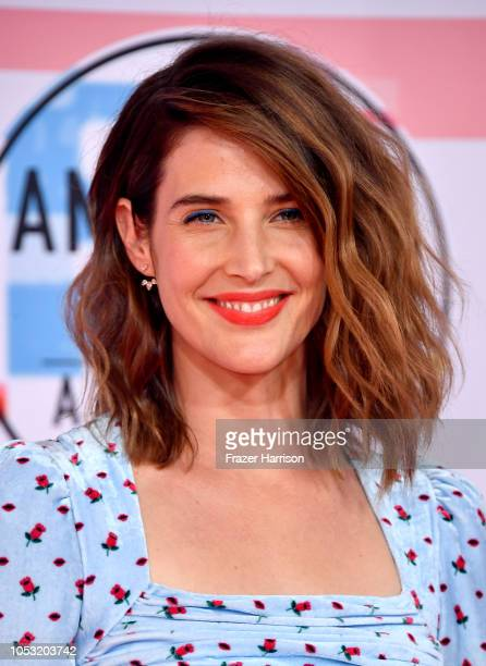 Cobie Smulders attends the 2018 American Music Awards at Microsoft Theater on October 09 2018 in Los Angeles California