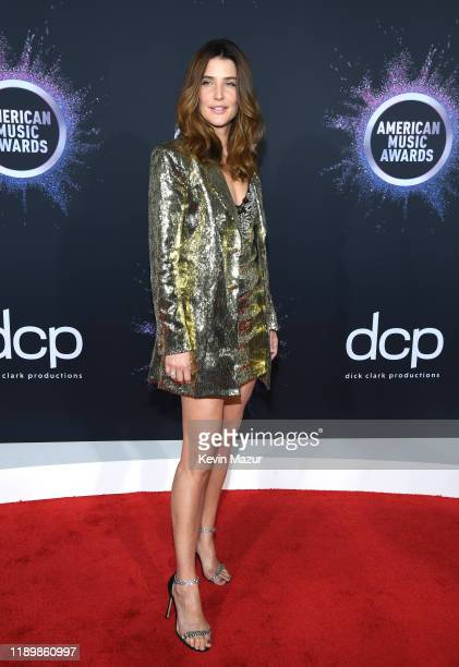 Cobie Smulders attends the 2019 American Music Awards at Microsoft Theater on November 24 2019 in Los Angeles California