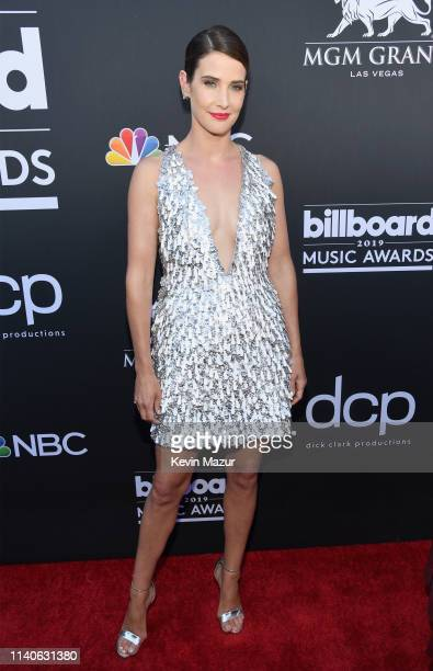 Cobie Smulders attends the 2019 Billboard Music Awards at MGM Grand Garden Arena on May 1, 2019 in Las Vegas, Nevada.