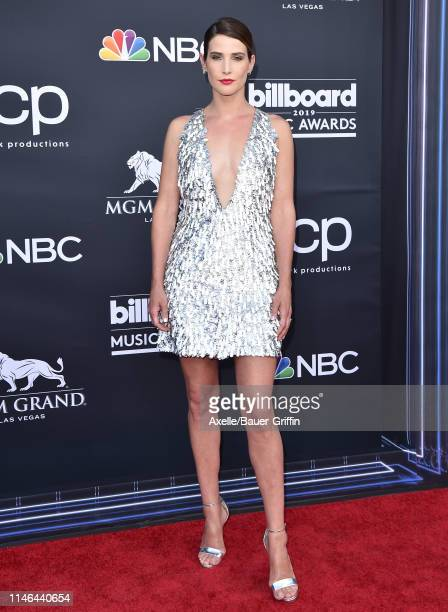 Cobie Smulders attends the 2019 Billboard Music Awards at MGM Grand Garden Arena on May 01, 2019 in Las Vegas, Nevada.