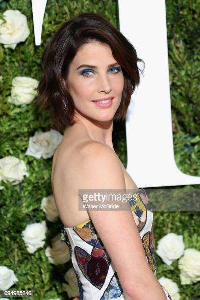 Cobie Smulders attends the 71st Annual Tony Awards at Radio City Music Hall on June 11 2017 in New York City