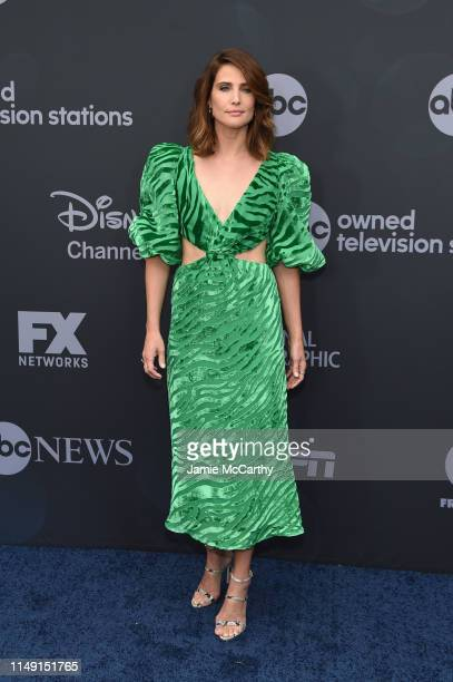 Cobie Smulders attends the ABC Walt Disney Television Upfront on May 14, 2019 in New York City.