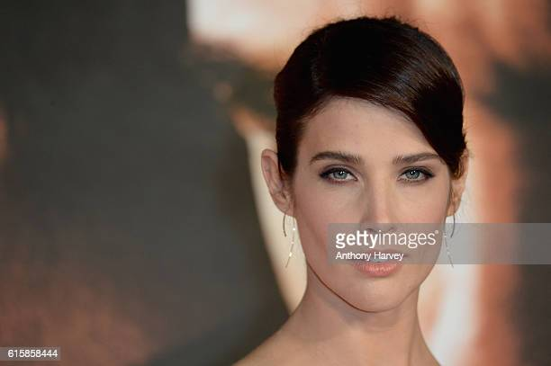 "Cobie Smulders attends the European premiere of ""Jack Reacher: Never Go Back"" at Cineworld Leicester Square on October 20, 2016 in London, England."