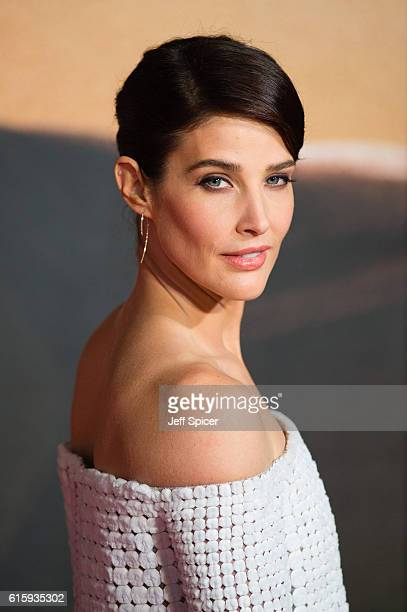 Cobie Smulders attends the European premiere of 'Jack Reacher Never Go Back' at Cineworld Leicester Square on October 20 2016 in London England