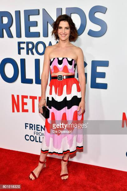 Cobie Smulders attends the 'Friends From College' New York premiere at AMC 34th Street on June 26 2017 in New York City