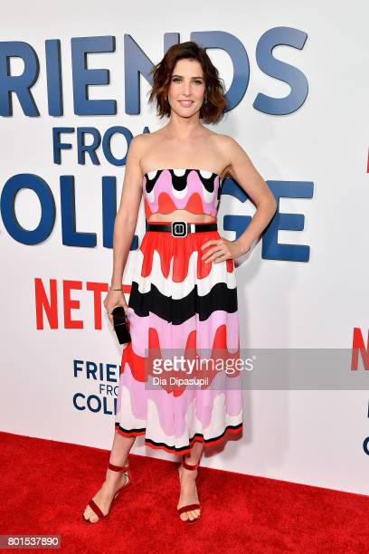 Cobie Smulders attends the Friends From College New York premiere at AMC 34th Street on June 26 2017 in New York City