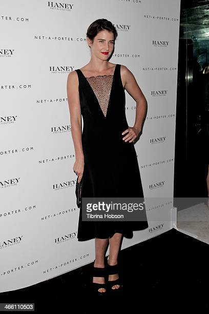f2e2b42040422 Cobie Smulders attends the Haney PretACouture launch hosted by NetAPorter  at mmhhmmm at The Standard Hollywood