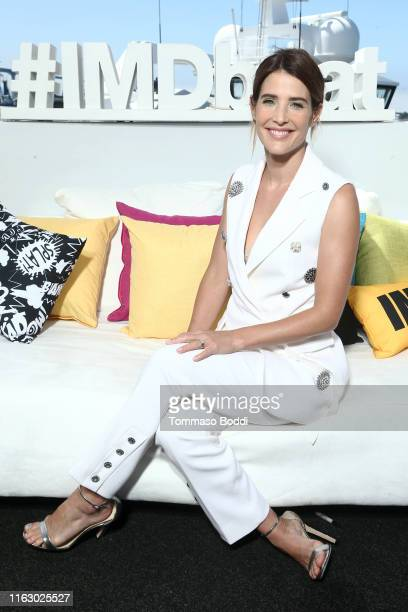 Cobie Smulders attends the #IMDboat at San Diego Comic-Con 2019: Day Two at the IMDb Yacht on July 19, 2019 in San Diego, California.