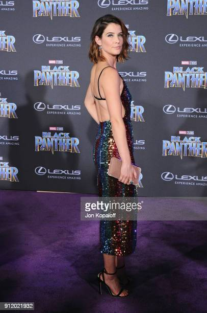 Cobie Smulders attends the Los Angeles Premiere 'Black Panther' at Dolby Theatre on January 29 2018 in Hollywood California