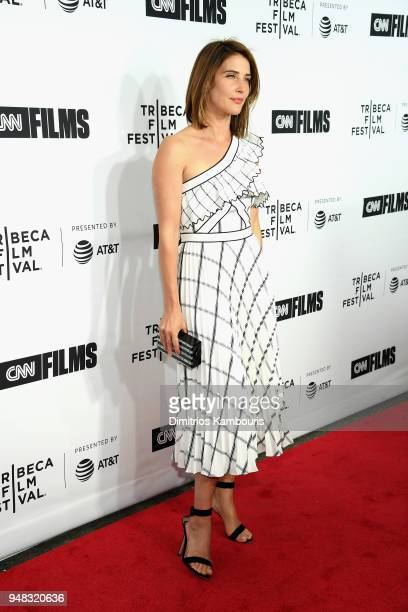 Cobie Smulders attends the Opening Night Gala of 'Love Gilda' 2018 Tribeca Film Festival at Beacon Theatre on April 18 2018 in New York City