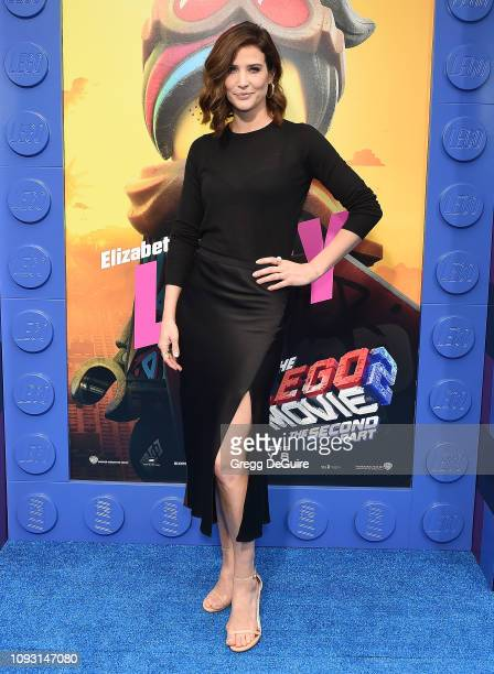 "Cobie Smulders attends the premiere of Warner Bros. Pictures' ""The Lego Movie 2: The Second Part"" at Regency Village Theatre on February 2, 2019 in..."
