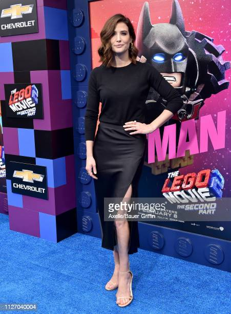 Cobie Smulders attends the premiere of Warner Bros Pictures' 'The Lego Movie 2 The Second Part' at Regency Village Theatre on February 02 2019 in...