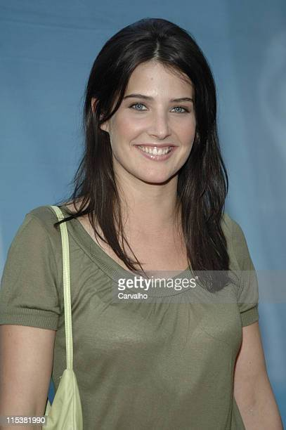 Cobie Smulders during 2005/2006 CBS Prime Time UpFront at Tavern on the Green Central Park in New York City New York United States