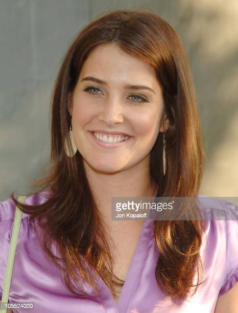 Cobie Smulders during CBS Summer 2005 Press Tour Party at Hammer Museum in Westwood California United States