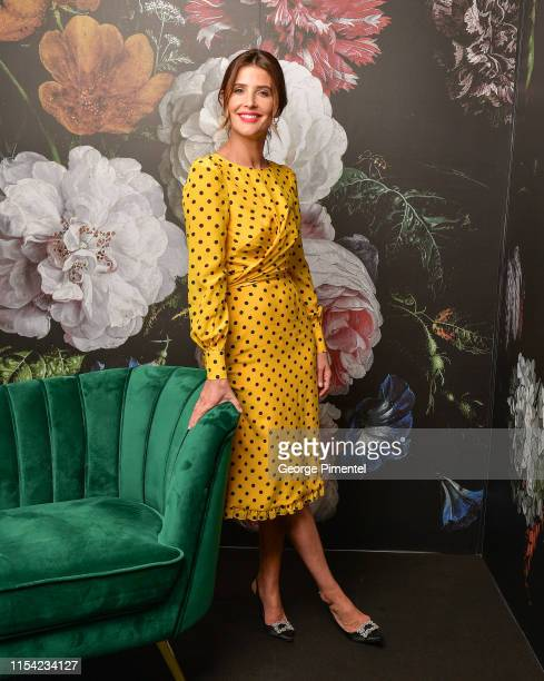 Cobie Smulders poses at the CTV Upfront Portrait Studio at Sony Centre For Performing Arts on June 06 2019 in Toronto Canada