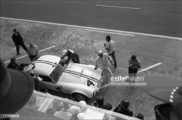 Cobra car '24 heurses du Mans' in Le Mans France on June 17 1963