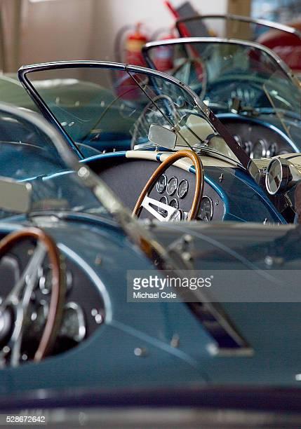 AC Cobra cars at Brooklands Cars Ltd