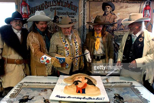 Buffalo Bill lookalikes helped to celebrate the 158th birthday of the legendary William F Cody <cq> more commonly referred to as Buffalo Bill <cq>...