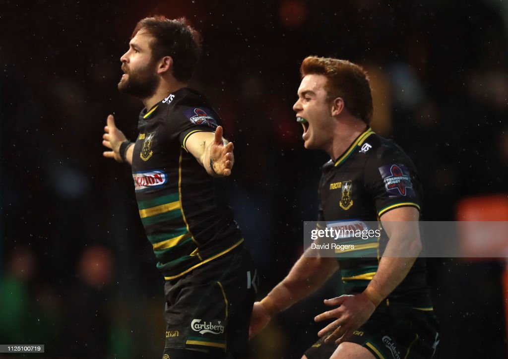 GBR: Northampton Saints v Leicester Tigers - Premiership Rugby Cup