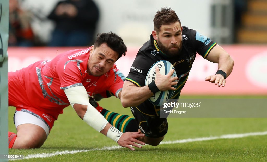 GBR: Northampton Saints v Sale Sharks - Gallagher Premiership Rugby