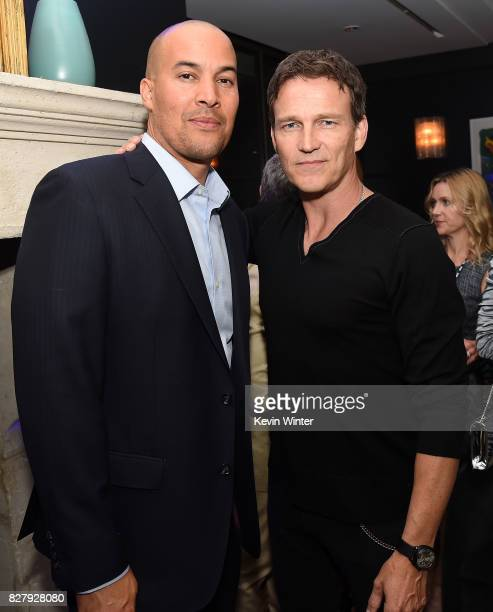 Coby Bell and Stephen Moyer attend the FOX 2017 Summer TCA Tour after party on August 8 2017 in West Hollywood California