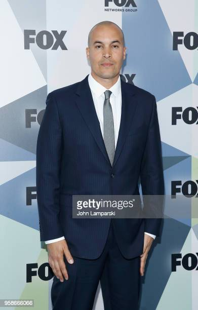 Coby Bell attends 2018 Fox Network Upfront at Wollman Rink Central Park on May 14 2018 in New York City