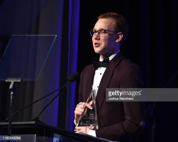 Coby Bird attends the 40th Annual Media Access Awards In Partnership With Easterseals at The Beverly Hilton Hotel on November 14, 2019 in Beverly...