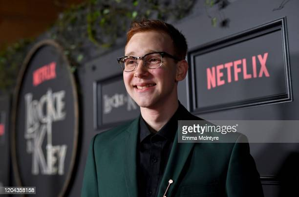Coby Bird attends the Locke Key Los Angeles Premiere at the Egyptian Theatre on February 05 2020 in Hollywood California