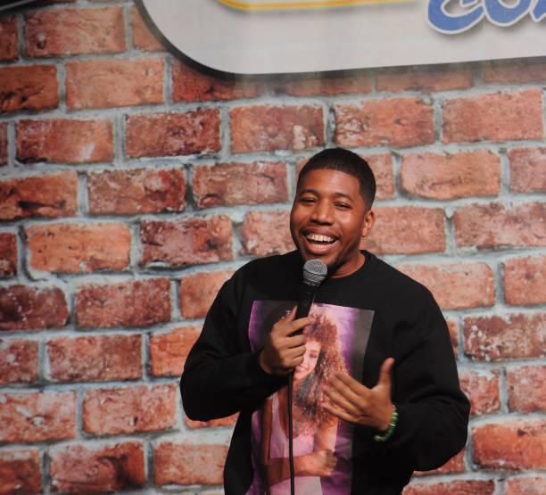 NJ: Darren Fleet Performs At Stress Factory Comedy Club