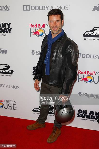 Coby Ryan McLaughlin arrives at On Any Sunday The Next Chapter Los Angeles Premiere at Dolby Theatre on October 22 2014 in Hollywood California