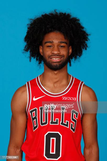 Coby White of the Chicago Bulls poses for a head shot during media day on September 30 2019 at the Advocate Center in Chicago Illinois NOTE TO USER...