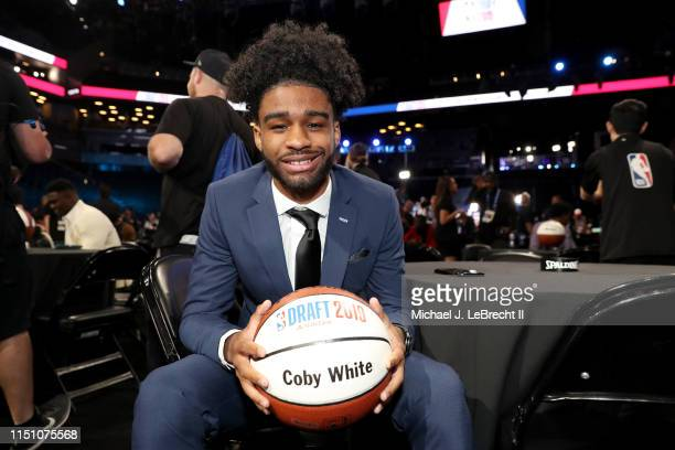 Coby White poses for a photo before the 2019 NBA Draft on June 20 2019 at the Barclays Center in Brooklyn New York NOTE TO USER User expressly...