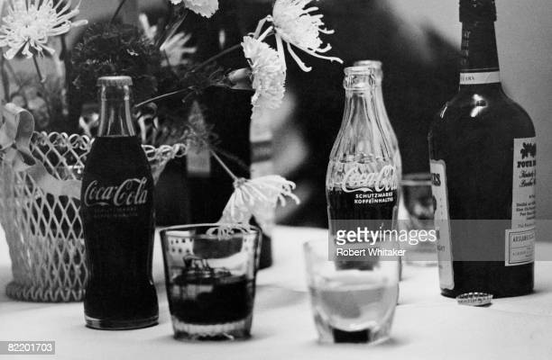 Coca Cola and bourbon provided by a hotel in Hamburg for the Beatles during their final world tour June 1966 The Coke and bourbon mix was a favourite...