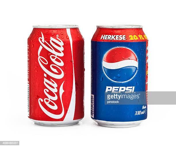コカコーラ、ペプシ - コークス ストックフォトと画像