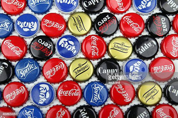 Coca Cola, Fanta, Sprite, Cappy Schweppes metal Cap