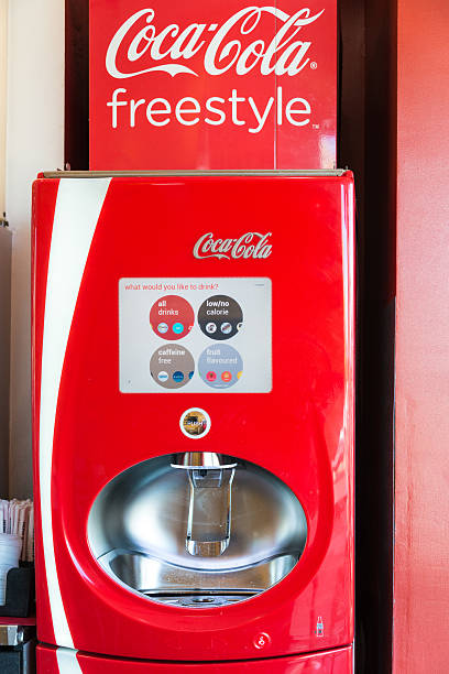 coca colas new vending machine
