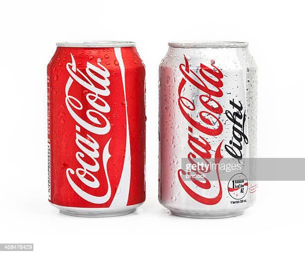 coca cola-produkte - pepsi stock-fotos und bilder