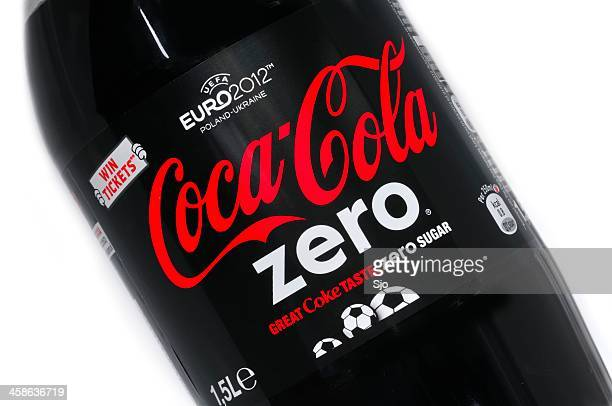 coca cola zero - the slants stock pictures, royalty-free photos & images