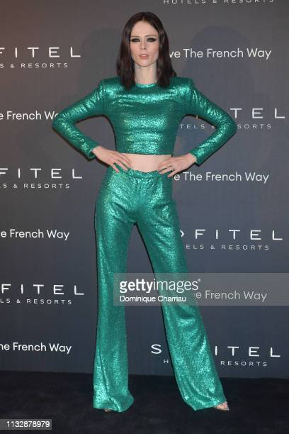 Coca Rocha attends La Nuit by Sofitel Party with CR Fashion Book at Pavillon Cambon on February 28 2019 in Paris France