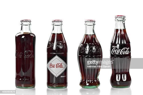 coca -cola (コカコーラ)が、ヴィンテージのコレクション記念 - コークス ストックフォトと画像