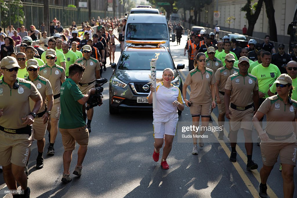 Getty Images for Coca-Cola - Torch Relay : News Photo