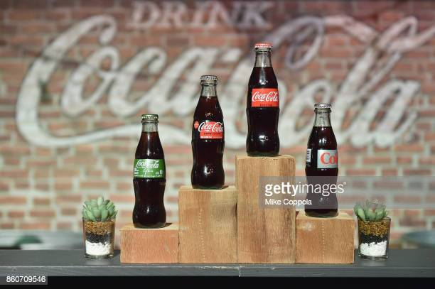 Coca-Cola on display at The Food Network & Cooking Channel New York City Wine & Food Festival Presented By Coca-Cola - Smorgasburg presented by...