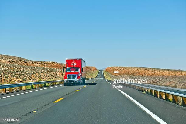 Coca-Cola Truck in Arizona USA
