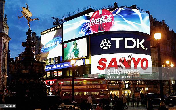 CocaCola unveiled one of the world's biggest and most sophisticated billboards today a 30 metre wide neon colossus wich can respond to the weather...