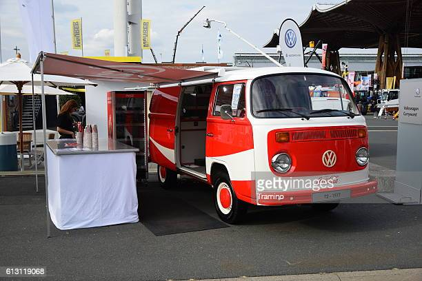 Coca-Cola van based on the old vehicle