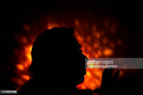 A cocaine consumer speaks during an interview with AFP in Bogota on January 29 2020 Narcodiseases affect consumers in Colombia the largest world...