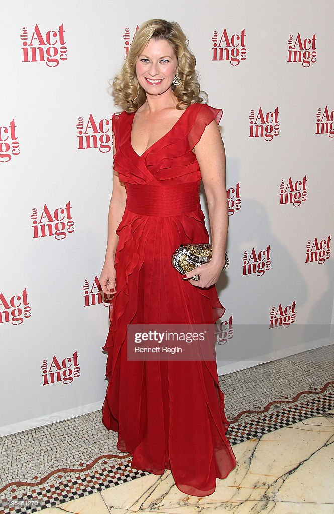 Co-Chair Angela Pierce attends the 2015 Acting Company Fall Gala at Capitale on November 9, 2015 in New York City.