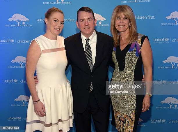 CoChair Cara Isdell Lee Senior Vice President of Development for the US Fund for UNICEF Barron Segar and Patron Chair Laura Turner Seydel attend...