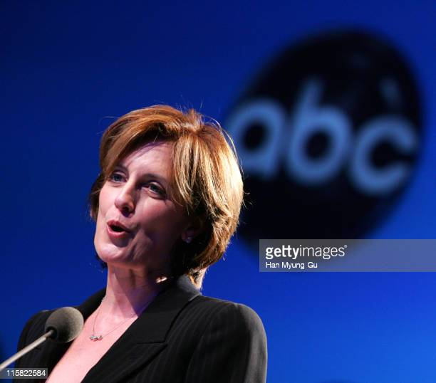 CoChair Disney Media Networks and President DisneyABC Television Group Anne Sweeney special speech about 'Hollywood In Seoul at the SDF' during the...