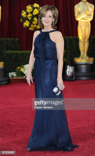 Cochair Disney Media Networks and president Disney/ABC Television Group Anne Sweeney arrives at the 82nd Annual Academy Awards held at Kodak Theatre...